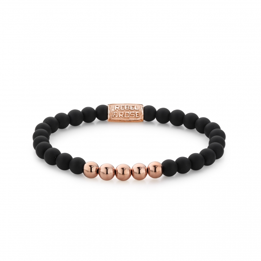 Mad Panther - 6mm - rose gold plated