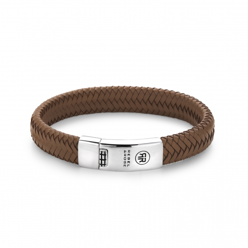 Braided Oval - Handsome In Khaki