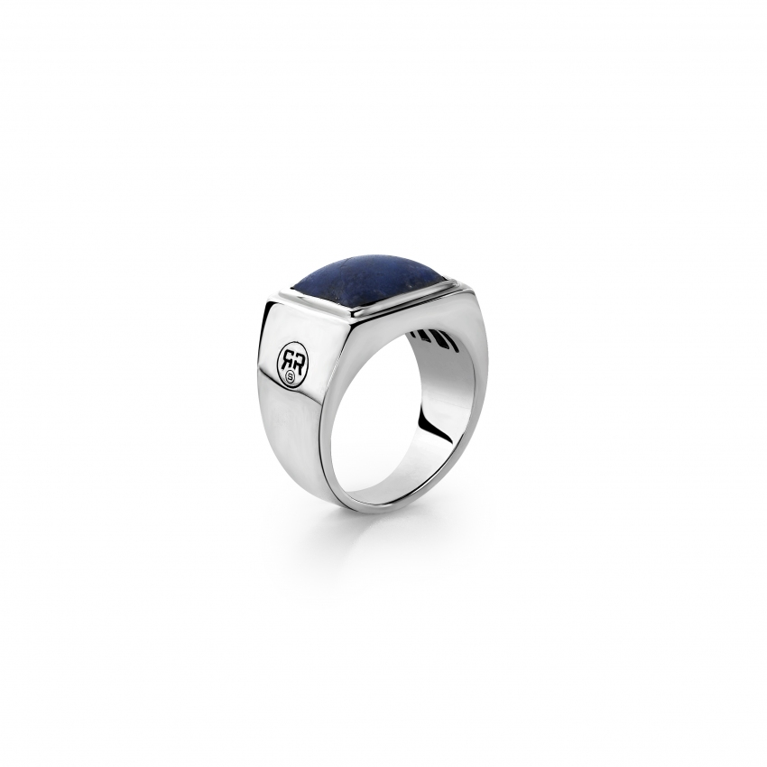 Ring Square Lapis