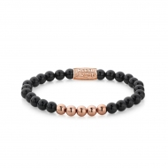 Black Panther - 6mm - rose gold plated