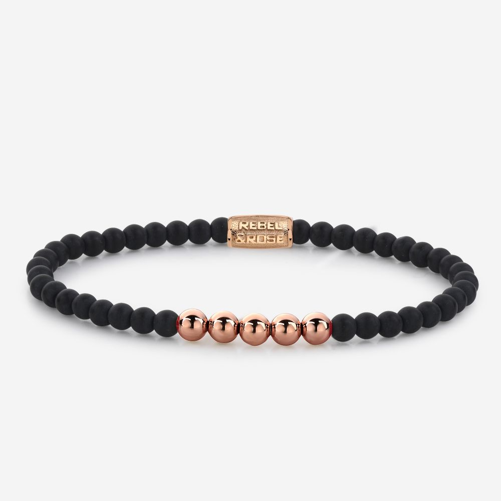 More Balls Than Most - Mad Panther - 4mm - rose gold plated