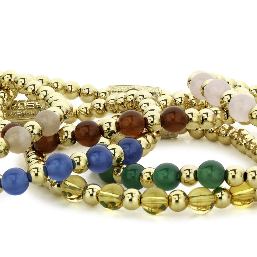 More Balls Than Most - Yellow Gold meets Brightening Blue - 6mm