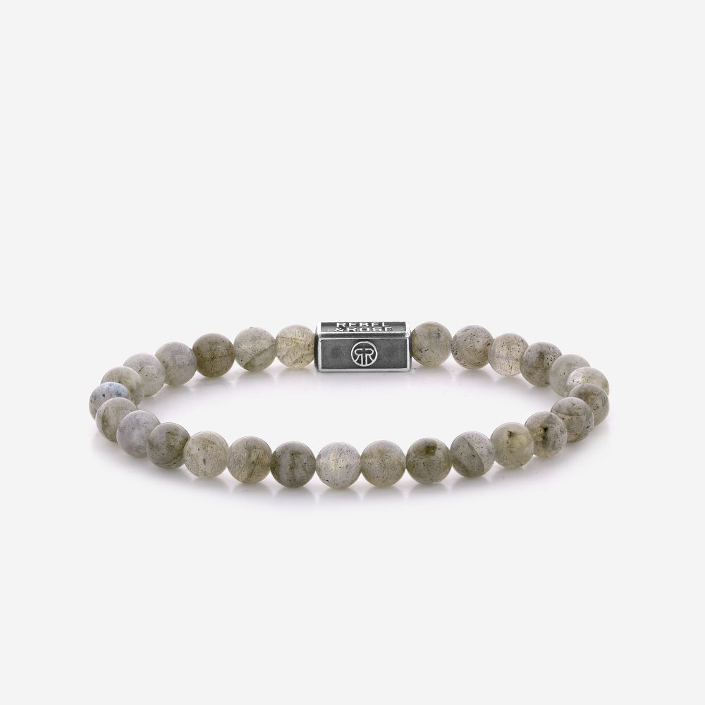 Silverbead - Labradorite Shield 925 - 6mm