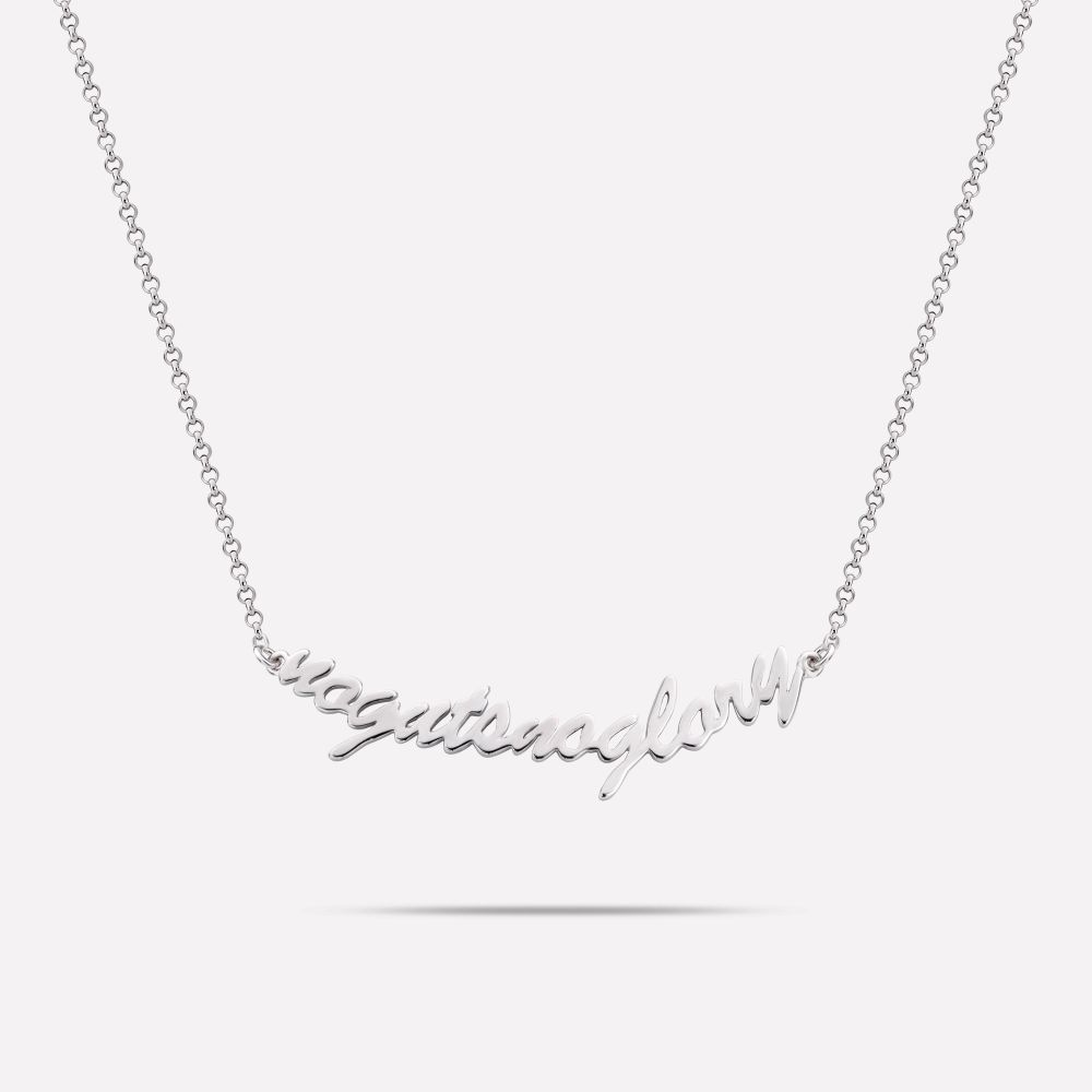 Necklaces - NoGutsNoGlory Silver