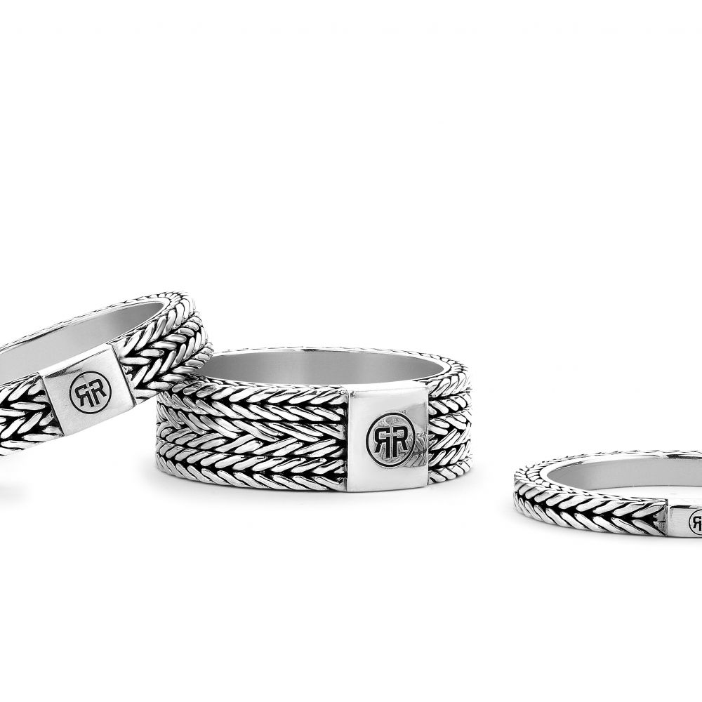 Sterling Silver Rings - Ring Bia