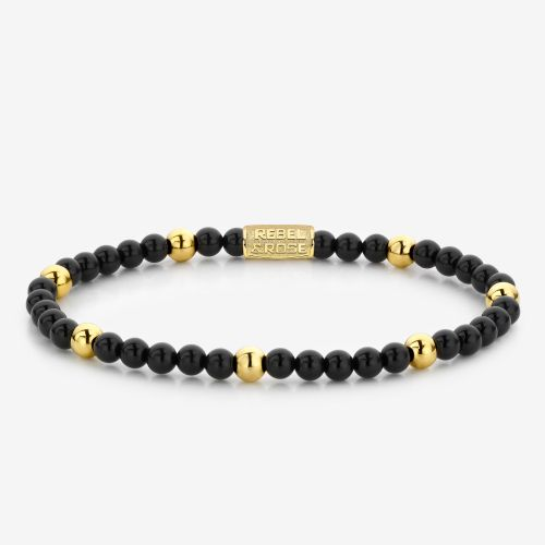 More Balls Than Most - Black Panther - 4mm - yellow gold plated