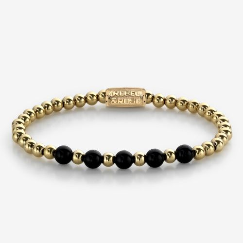 More Balls Than Most - Yellow Gold meets Black Madonna - 6mm