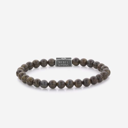 Silverbead - Bronzite Brown 925 - 6mm