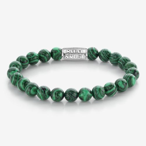 Stones Only - Malachite Green - 8mm