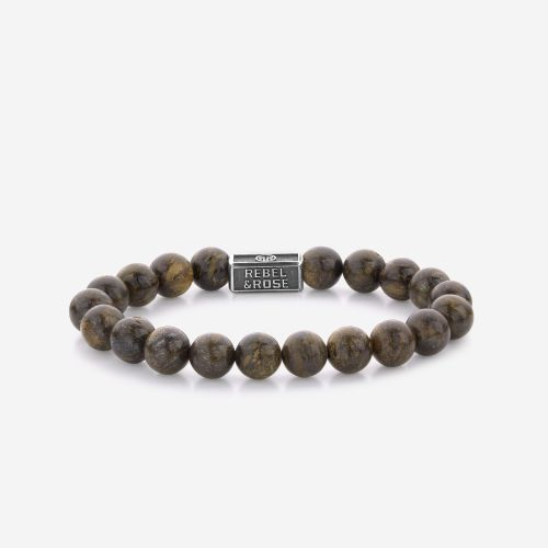 Silverbead - Bronzite Brown 925 - 8mm