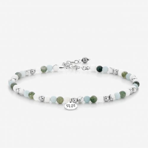 Anklets - Anklet Green fantasy - 4mm