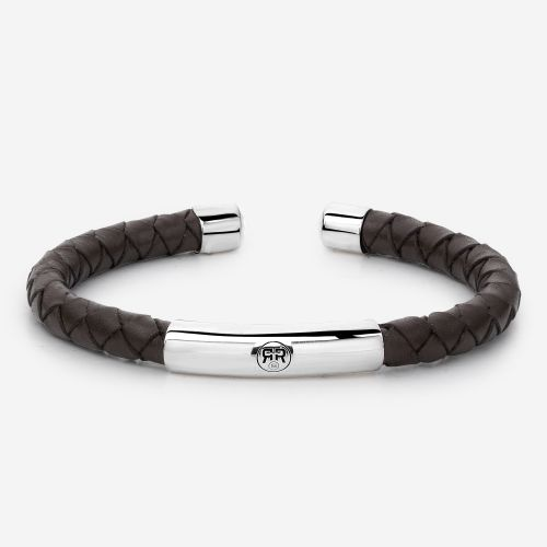 Absolutely Leather - Bulan Bangle Brown