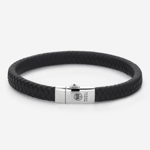 Absolutely Leather - Small Braided Black