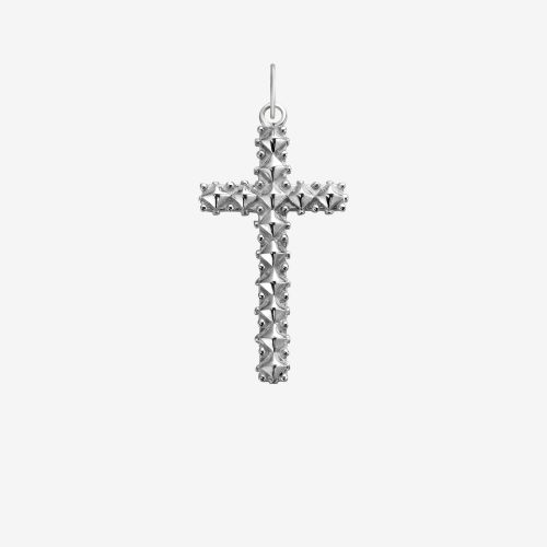 Necklaces - Pendant Studded Cross