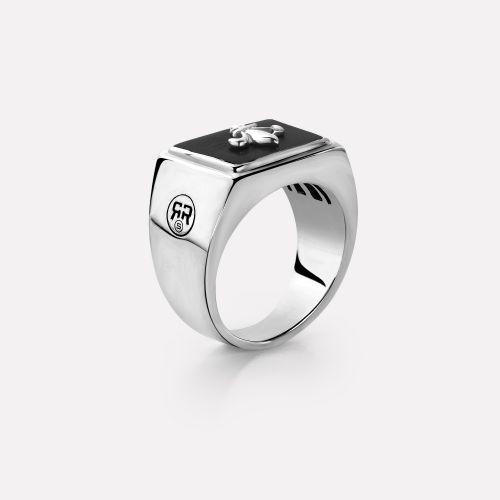 Sterling Silver Rings - Ring Square Scout