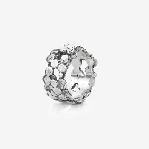 Sterling Silver Rings - Ring Dots & Dots