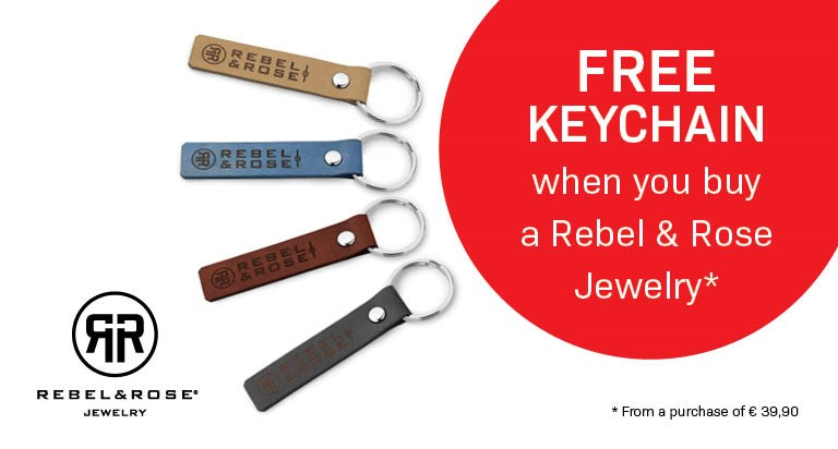 If you supplement your order up to 39,90 euros you will receive a keychain for free
