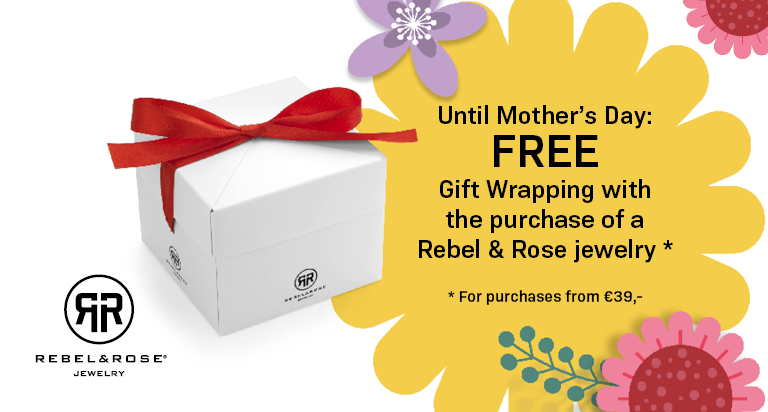 If you supplement your order up to 39.00 euros, you can choose free gift wrapping.